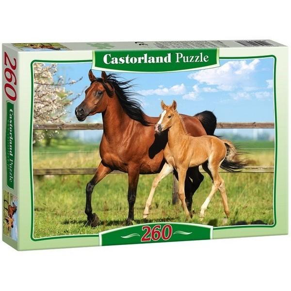 Kanca és csikója, Castorland puzzle 260 db