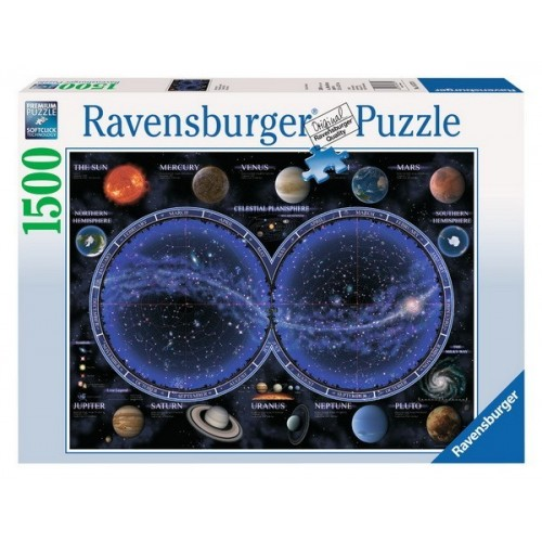 Naprendszer - Égbolt térkép, Ravensburger Puzzle kirakó 1500 db