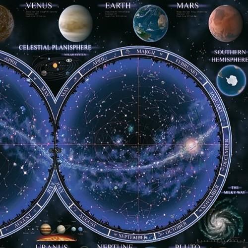 Celestial Planisphere, Ravensburger Jigsaw Puzzle 1500 pc
