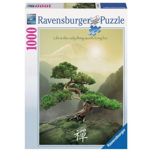 ZEN FA, Ravensburger Puzzle, kirakó 1000 db