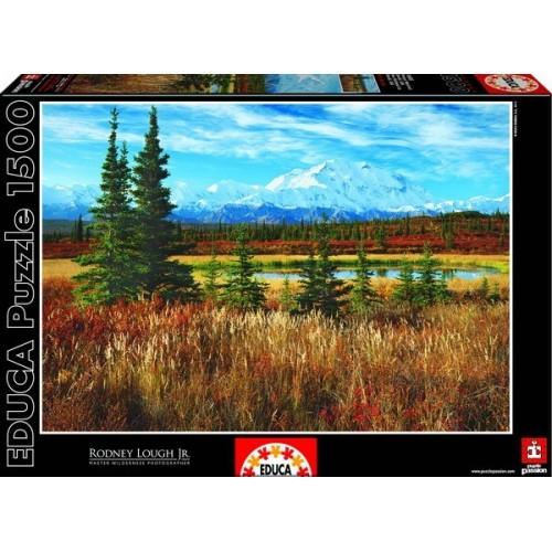 Denali Park - USA, Educa Puzzle kirakó 1500 db