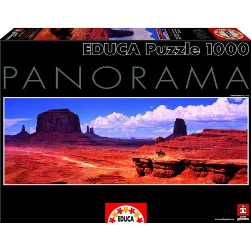 Monument Valley - USA, Educa Panoráma Puzzle 1000 darabos képkirakó