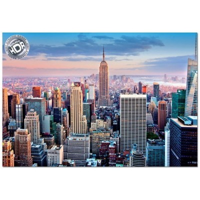 Midtown, Manhattan - New York, Educa HDR Puzzle 1000 pcs
