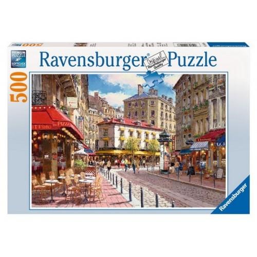 Üzletek a sétálóutcában, Ravensburger Puzzle 500 darabos képkirakó