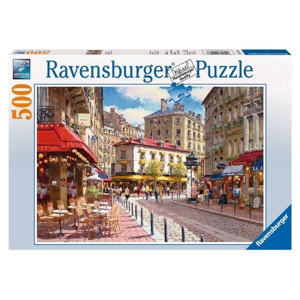 Quaint Shops, Ravensburger Puzzle 500 pc