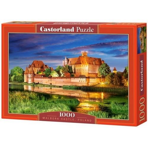 Malbork Kastély - Lengyelország, Castorland Puzzle 1000 db