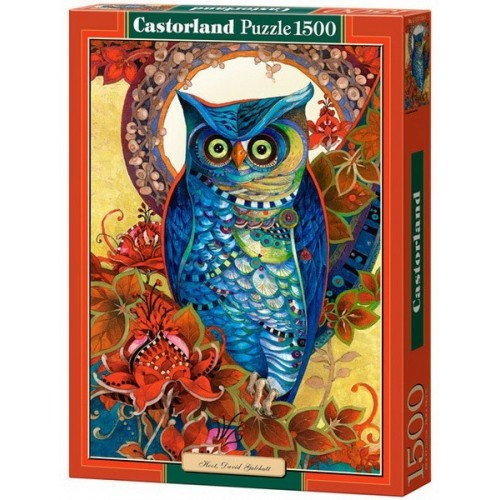 Hoot - David Galchutt, Castorland puzzle 1500 pc