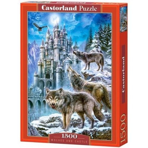 Farkasok a kastélynál, Castorland puzzle 1500 db