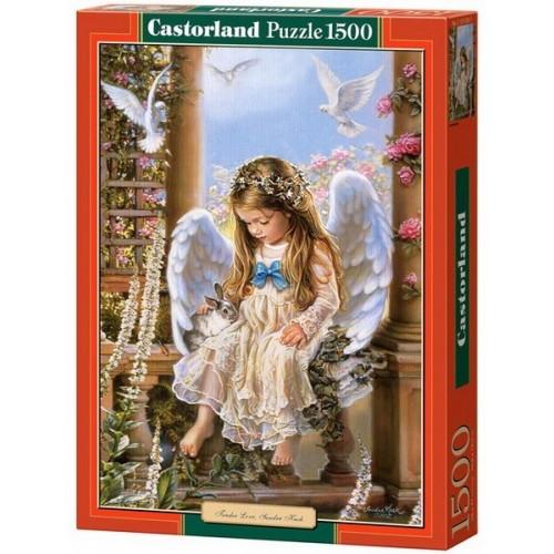 Tender Love - Sandra Kuck, Castorland puzzle 1500 db
