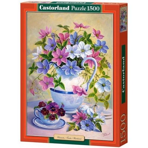 Clematis - Trisha Hardwickwick, Castorland puzzle 1500 pc