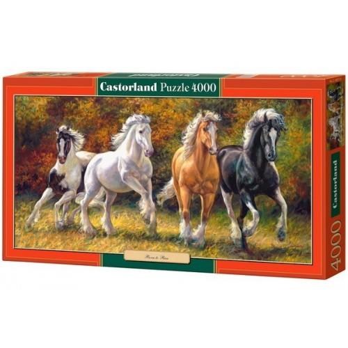 Született vágtázók, Castorland puzzle 4000 db