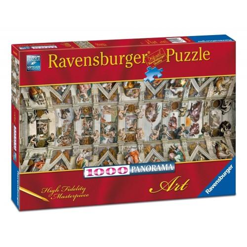 Sixtus Chapel, Ravensburger Panorama Puzzle 1000 pcs