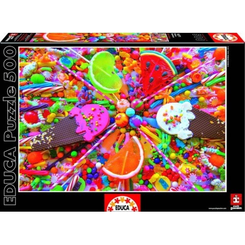 Cukorkák, Educa Puzzle 500 darabos képkirakó