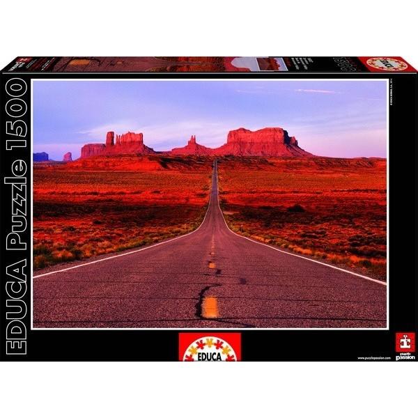 Monument Valley Road, Educa Puzzle 1500 pc