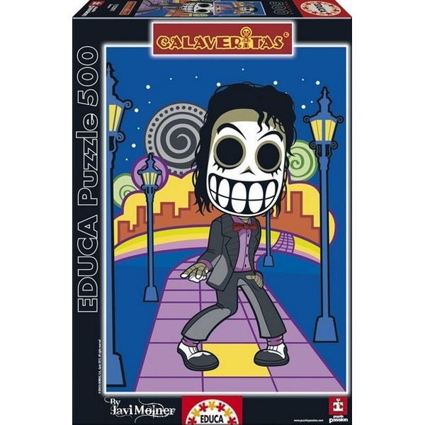 Jean Calaveritas (skulls), Educa Puzzle 500 pcs