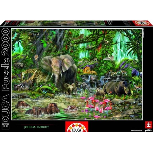 African Jungle, Educa Puzzle 2000 pc
