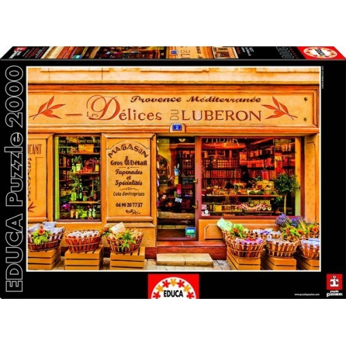 Luberon delicatessen shop, Educa Puzzle 2000 pc