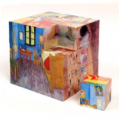 WORKS OF ART - Magnetic Puzzle Cube, 27 cube