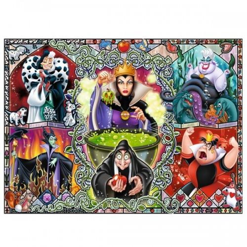 Disney női gonoszok, Ravensburger 1000 darabos kirakó