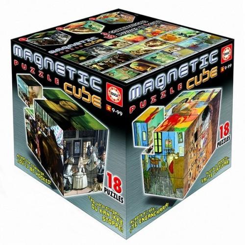 Híres Festmények - Mágneses Puzzle kocka