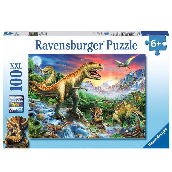Cars, Ravensburger Puzzle 100 pcs XXL