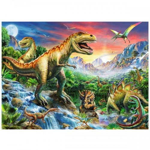 Dinosaurs, Ravensburger Puzzle 100 pcs XXL