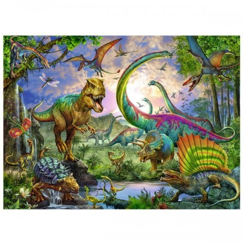 Dinosaurs, Ravensburger Puzzle 200 pcs XXL