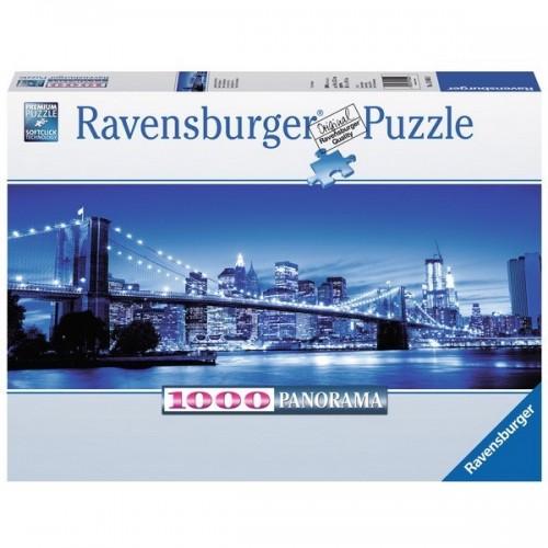 Éjjeli New York, Ravensburger Panoráma Puzzle 1000 db