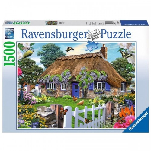 Cottage in England, Ravensburger Jigsaw Puzzle 1500 pc