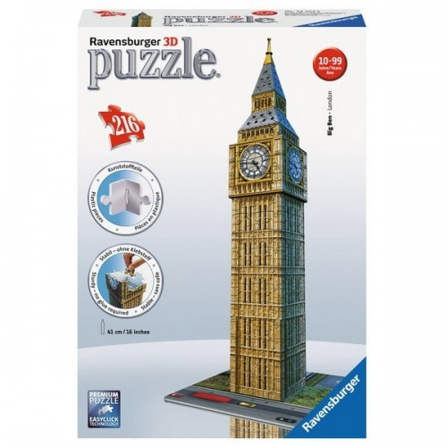 Big Ben - London,  Ravensburger 3D puzzle