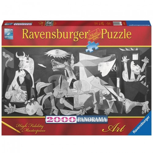 Guernica - Picasso, Ravensburger Panoráma puzzle 2000 db
