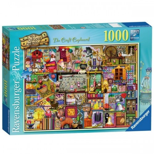 Kitchen Cupboard - Colin Thompson, Ravensburger Puzzle 1000 pc