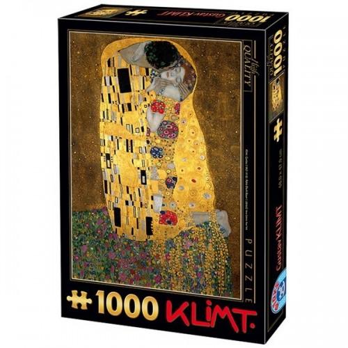 Csók - Gustav Klimt, D-Toys puzzle 1000 db