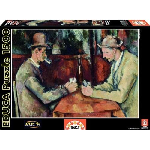 Kártyázók - Paul Cezanne, Educa Puzzle 1500 db