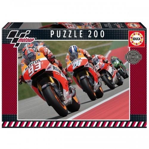 Moto GP - Motorverseny, Educa puzzle 200 db