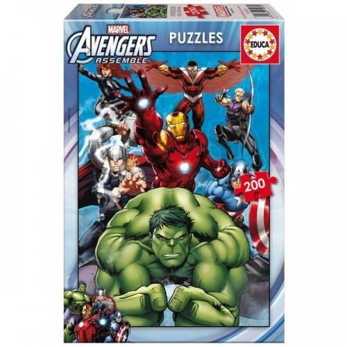 Bosszúállók - Avengers, Marvel, Educa Puzzle 200 db