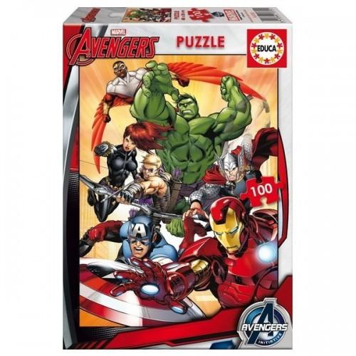 Bosszúállók - Avengers, Marvel, Educa Puzzle 100db