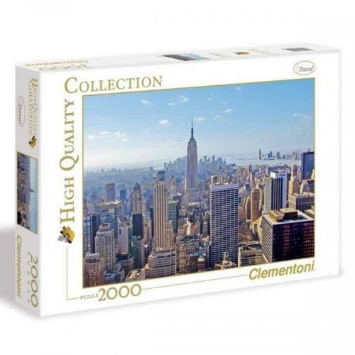 New York, Clementoni puzzle, 2000 db-os