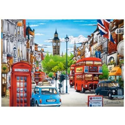 London, Castorland puzzle 1500 pc