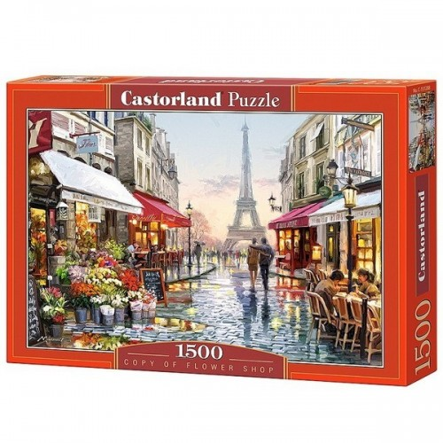 Flower shop - Richard Macneil, Castorland puzzle 1500 pc