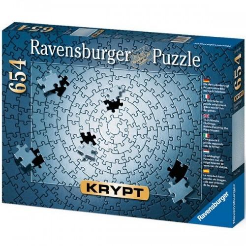 Ravensburger Krypt Puzzle - Szürke, 654 darabos kirakó