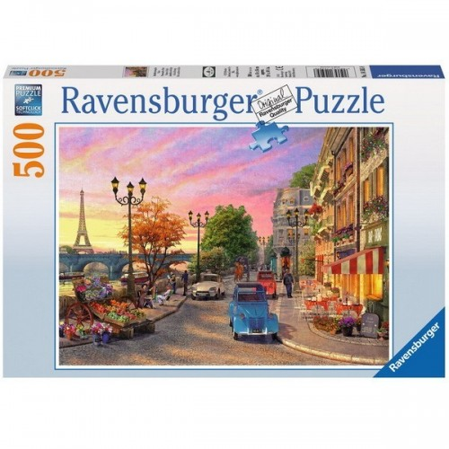 Paris Evening, Ravensburger Puzzle 500 pcs