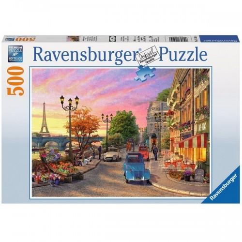 Párizsi alkony, Ravensburger Puzzle, 500 darabos képkirakó
