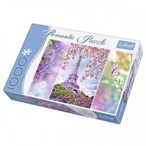 Tavasz Párizsban, Trefl Romantic puzzle, 1000 db