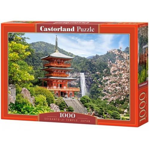 SEIGANTO-JI templom - Japán, Castorland Puzzle 1000 pc, Castorland Puzzle 1000 db