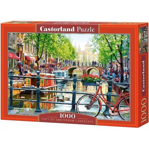 AT THE ROSE GARDEN, Castorland Puzzle 1000 pc