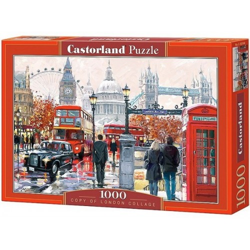 London kollázs, Castorland Puzzle 1000 db