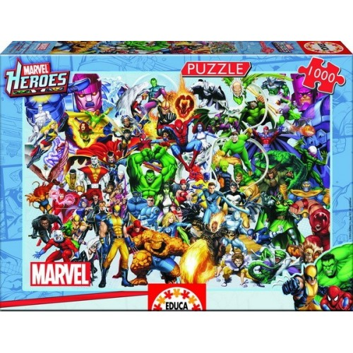 Marvel Heroes, Educa Puzzle 1000 db