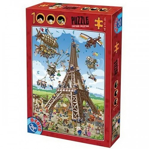 Eiffel Tower - Paris, D-Toys puzzle 1000 pc