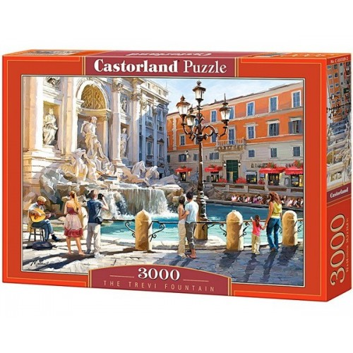 Trevi-kút - Richard Macneil, Castorland puzzle 3000 db